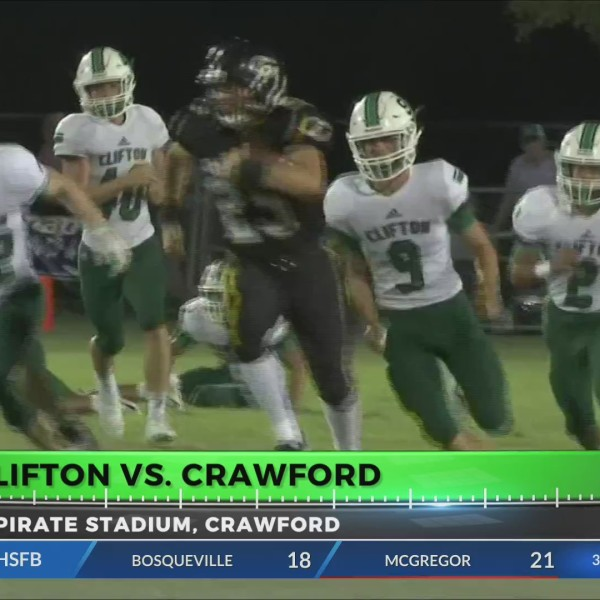 GAME OF THE WEEK: CLIFTON @ CRAWFORD