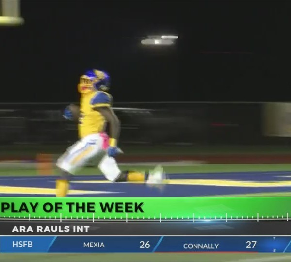 PLAY OF THE WEEK