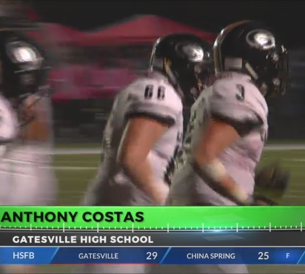 Player You Can Count On: Anthony Costas